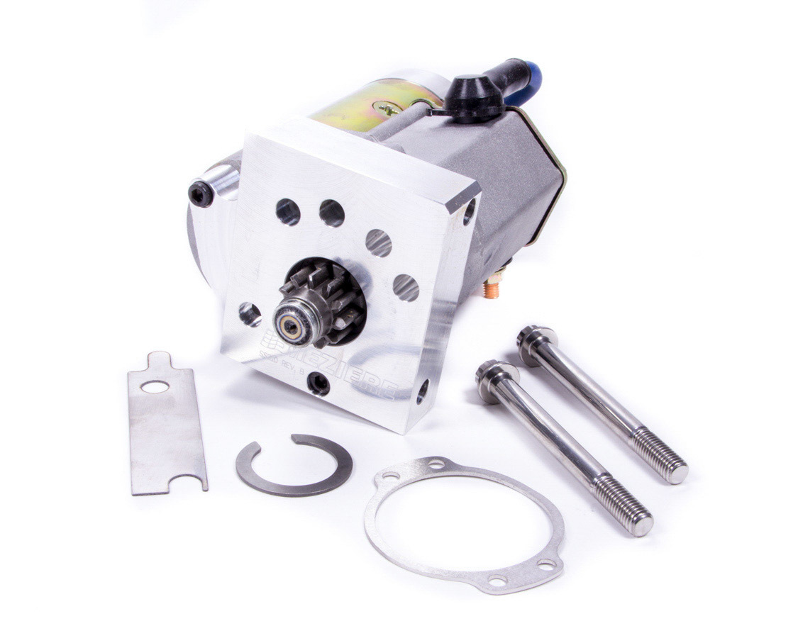 Meziere HD Offset Starter - GM LS Engine w/168 Tooth