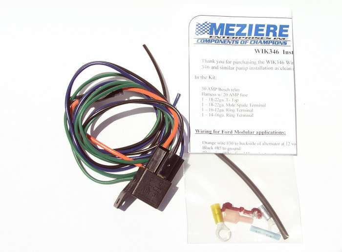 Meziere Wiring Installation Kit for WP346