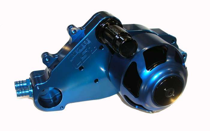 Meziere SBC LS1 Billet Electric W/P - Blue
