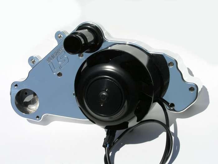Meziere SBC LS1 Billet Electric W/P - Polished