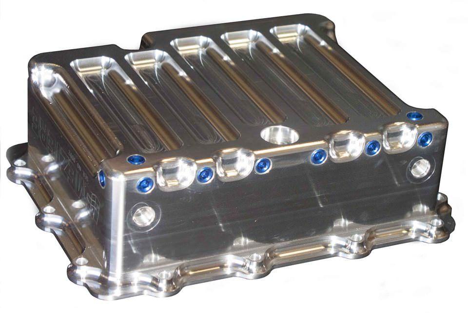 Meziere Transmission Pan - GM P/G - Aluminum