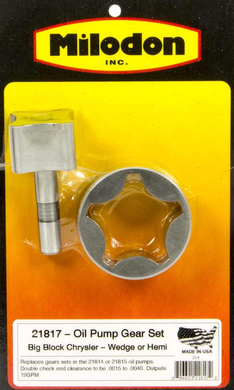 Milodon Chrys. Oil Pump Gears