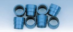 Milodon Spark Plug Tube Seals - Late Hemi