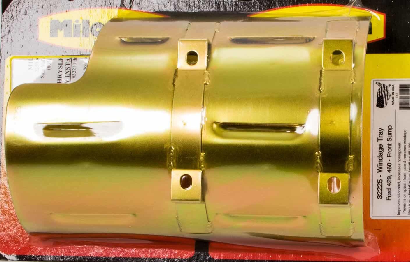 Milodon BBF 429/460 Windage Tray