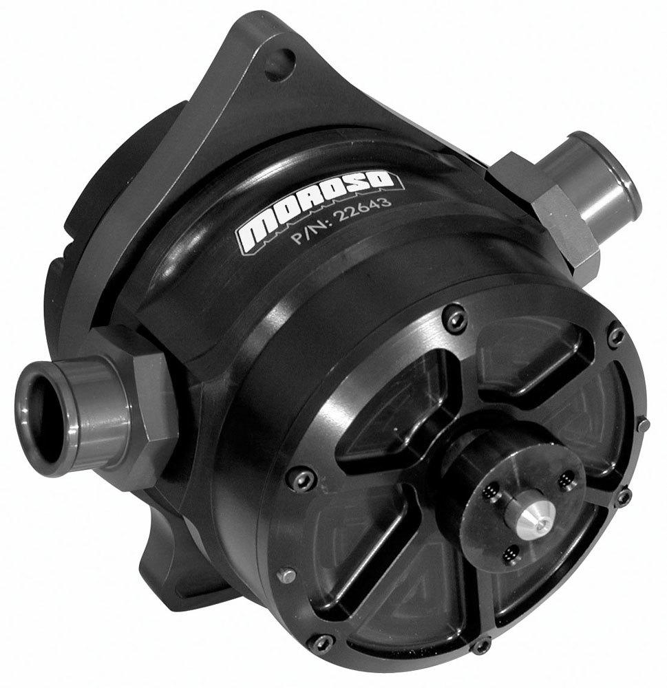 Moroso Pro Mod 4-Vane Vacuum Pump w/Brkts. & Hdwr