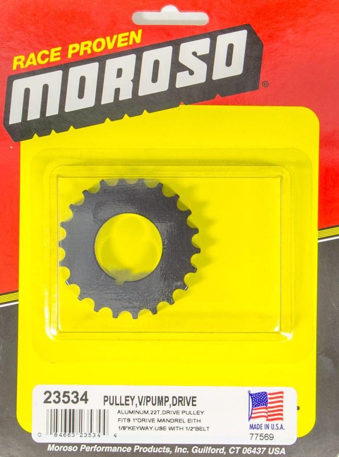 Moroso Vacuum Pump Drive Pulley 22T- Radius Tooth