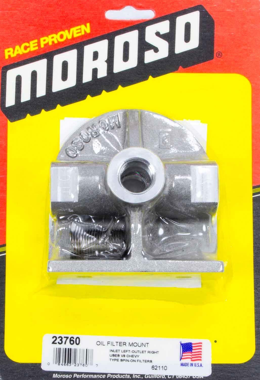 Moroso Chevy Oil Filter Mount