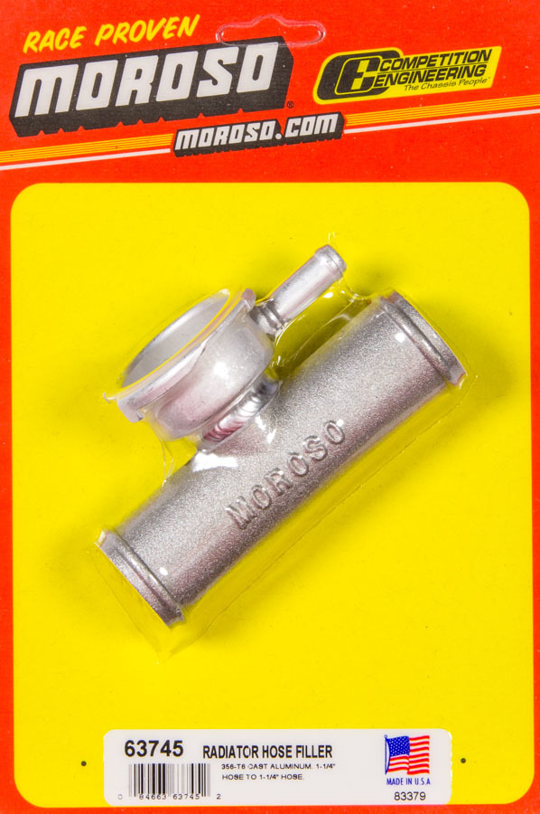 Moroso Radiator Hose Filler 1.25in Hose To 1.25in Ho