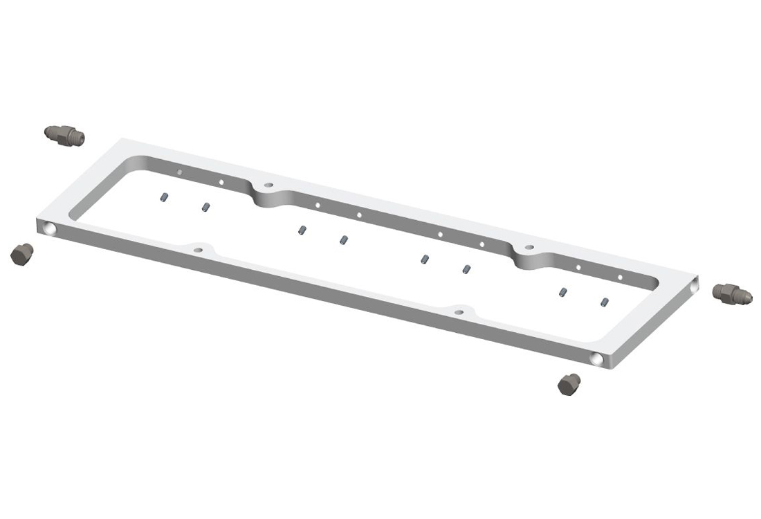 Moroso SBC Valve Cover Spacers w/Spring Oiling Rails