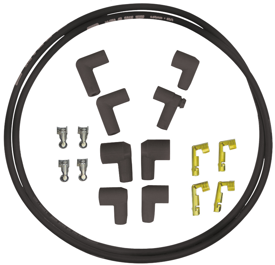 Moroso Replacement Coil Wire Kit - Ultra 40 Unsleeved