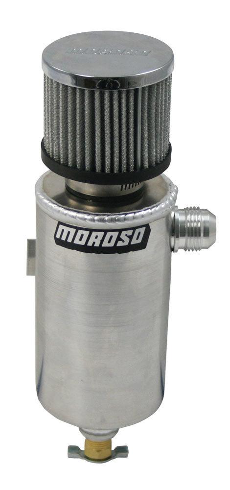 Moroso Alum. Breather Tank w/-12an Fitting