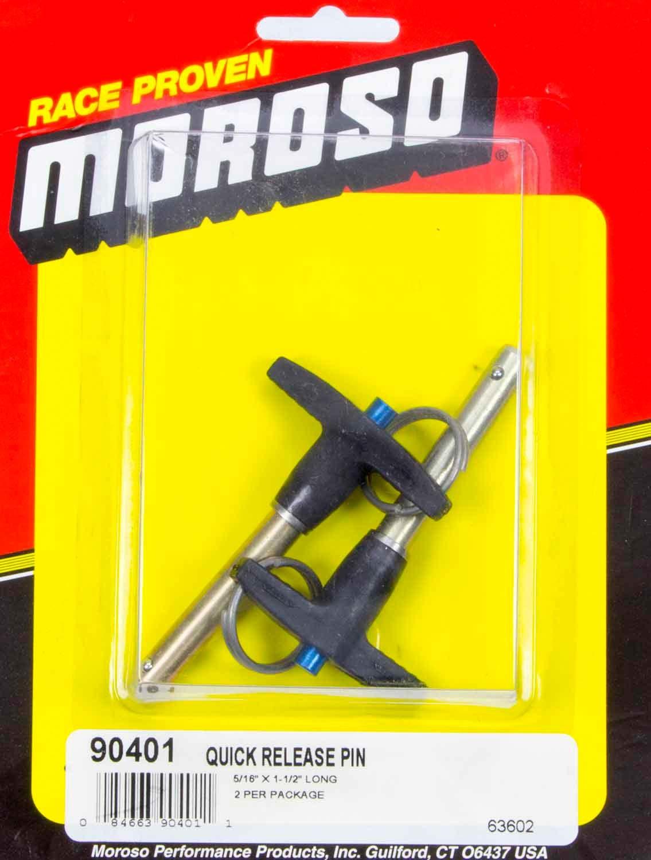 Moroso Quick Release Pins (2) 5/16 x 1-1/2