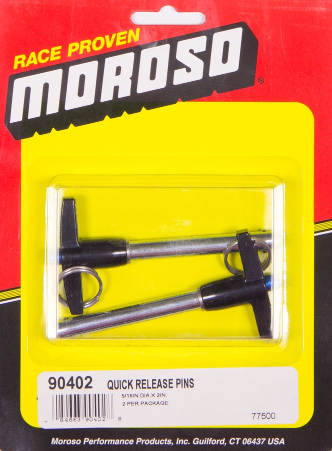Moroso Quick Release Pins (2) 5/16 x 2in