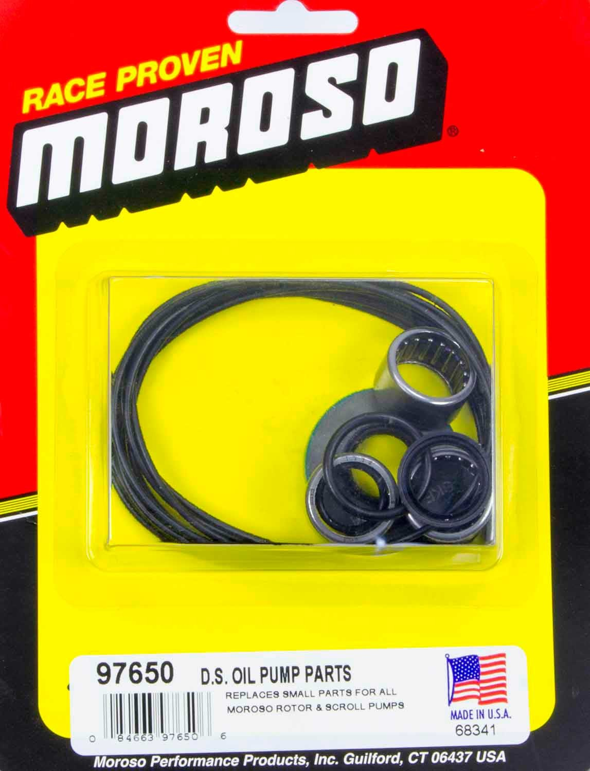 Moroso Replacement Parts Kit For D/S Pump