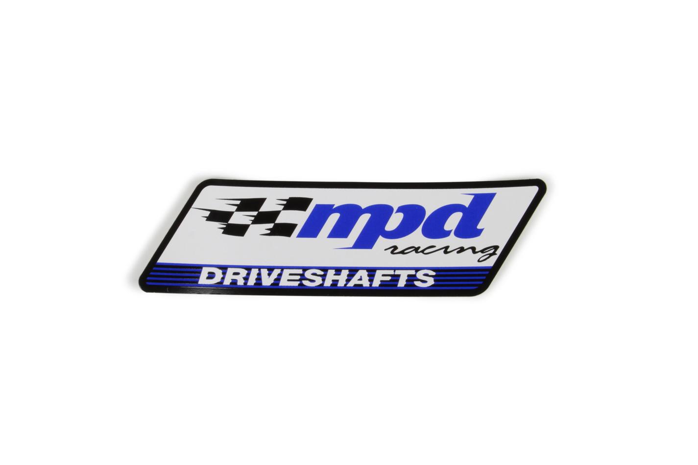 Mpd Racing MPD Decal 2x6 Driveshaft