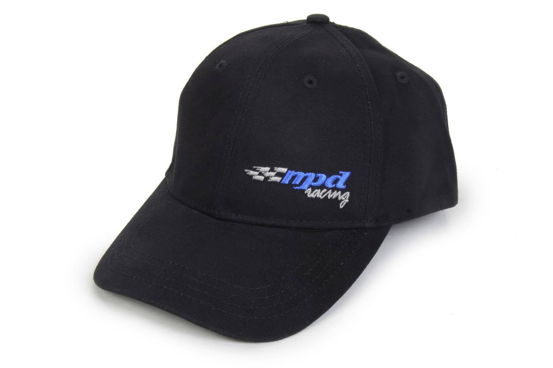 Mpd Racing MPD Black Logo Hat Velcro Enclosure