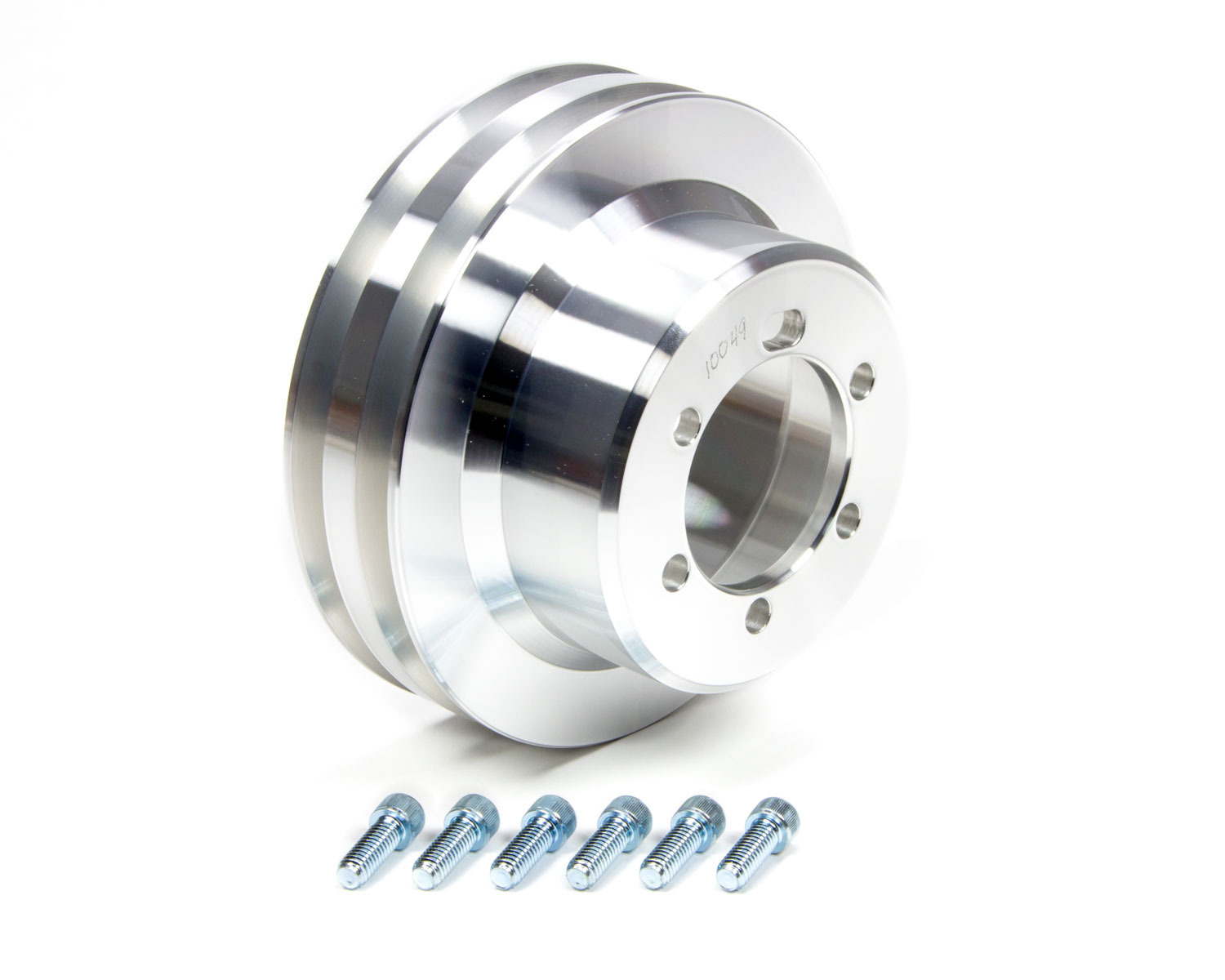 March Performance 2 Groove Crank Pulley 6-1/2in