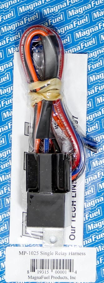 Magnafuel/magnaflow Fuel Systems Single Relay Harness