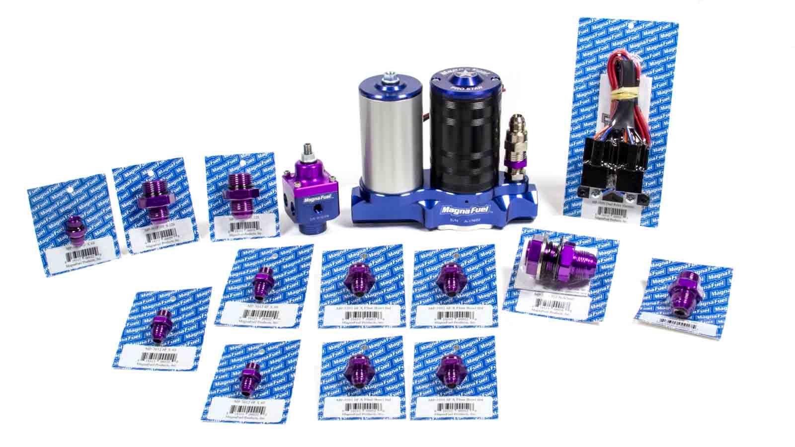 Magnafuel/magnaflow Fuel Systems ProStar 500 Fuel Pump Kit - Dual 4BBL Carbs