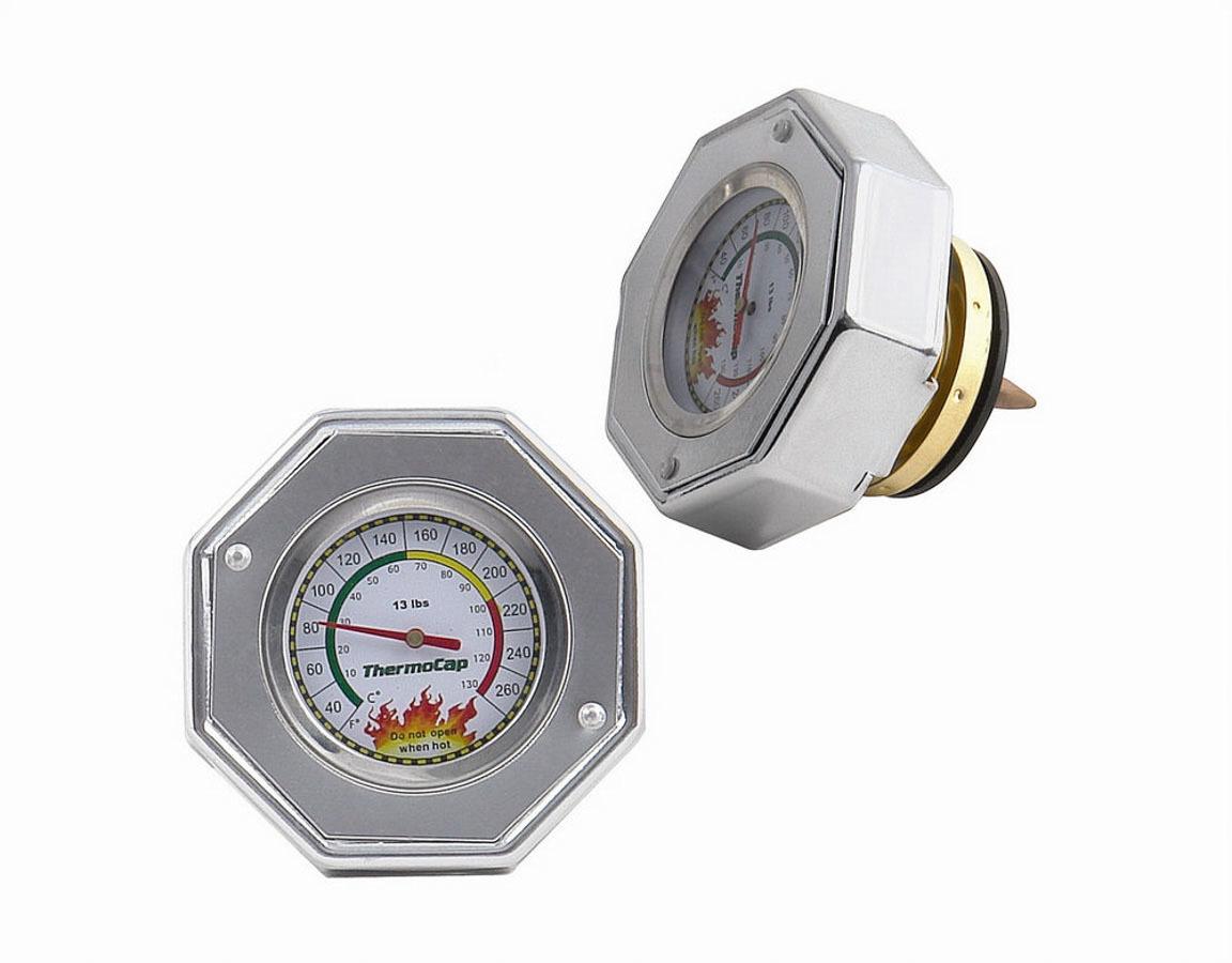 Mr. Gasket Thermo Cap Radiator 13psi Silver