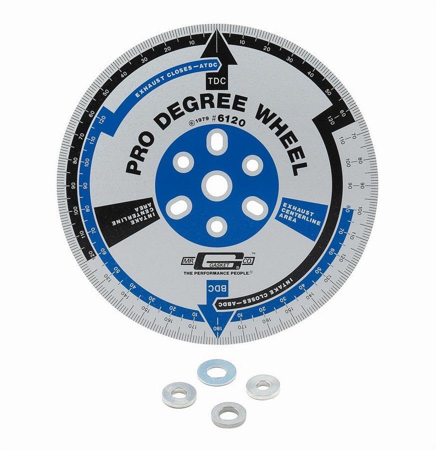 Mr. Gasket Pro Degree Wheel