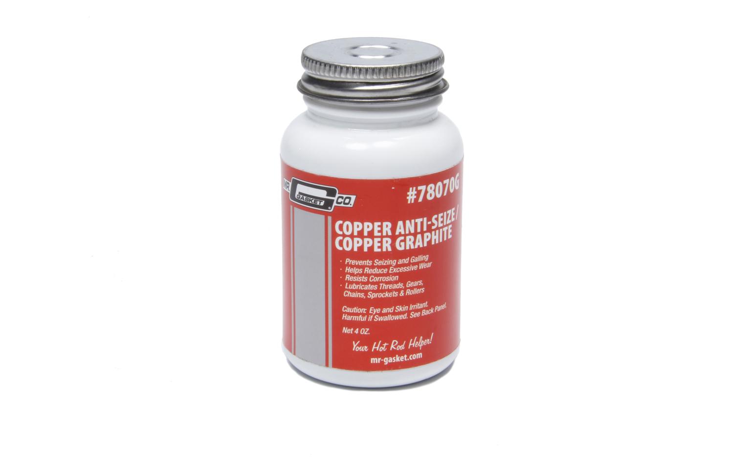 Mr. Gasket Copper Anti-Seize - 4oz Jar w/Brush
