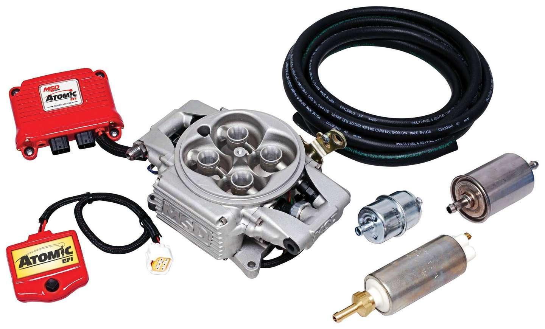 Msd Ignition Atomic EFI Master Kit w/Fuel Pump