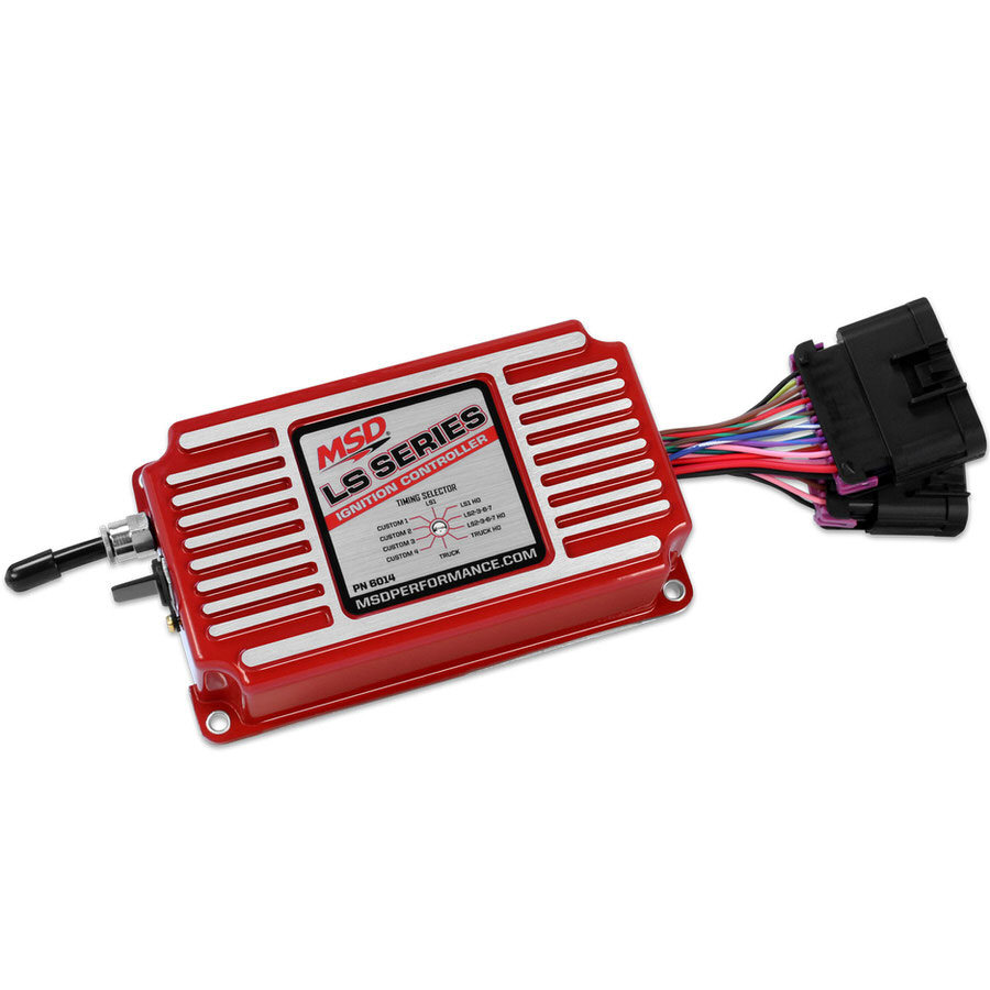 Msd Ignition Ignition Controller GM LS Series - Red