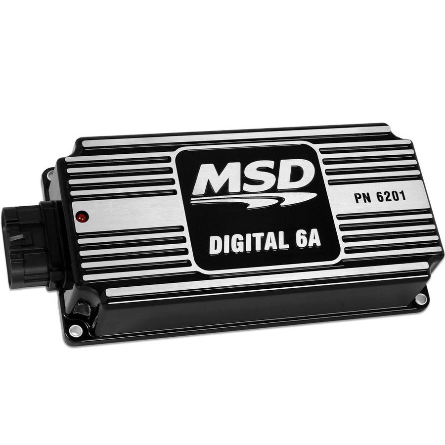 Msd Ignition 6A Ignition Control Box Black