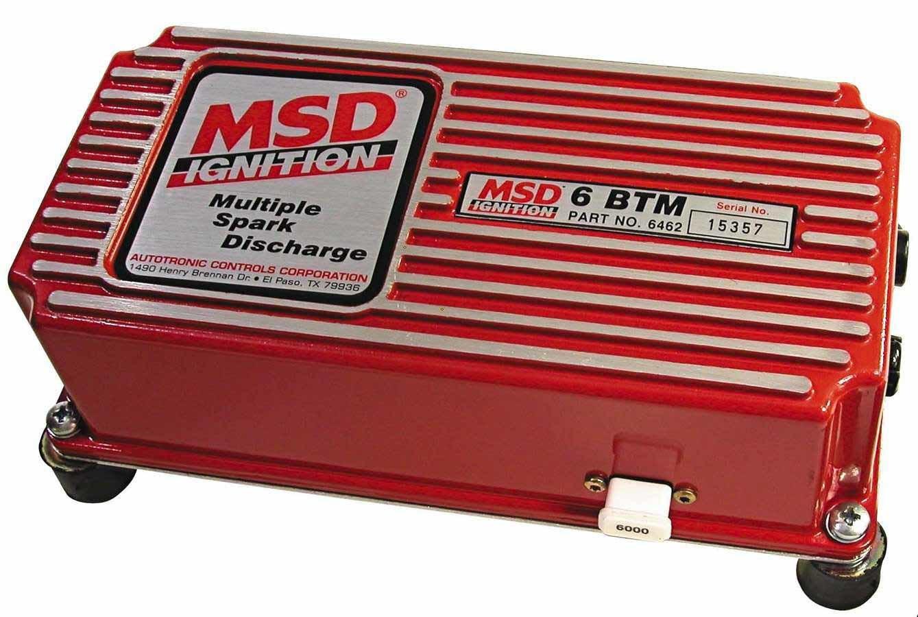 Msd Ignition 6btm Boost Timing Master