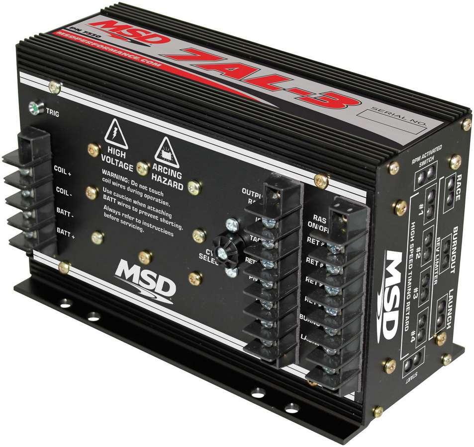Msd Ignition MSD 7AL-3 Pro Drag Race Ignition Box Black