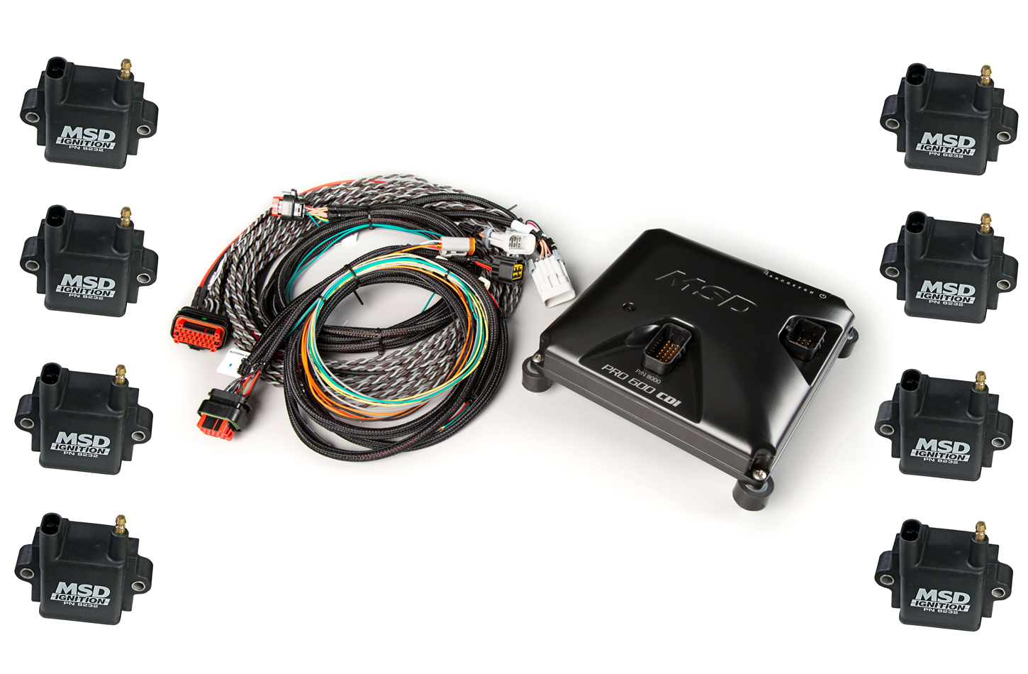 Msd Ignition Pro 600 CDI Ignition System w/8232 Coils