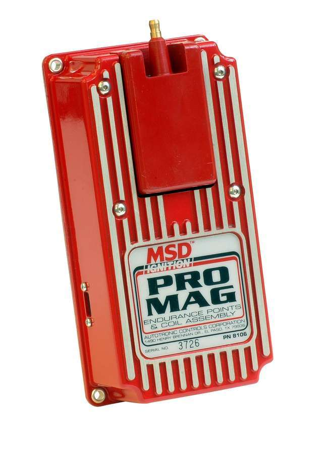 Msd Ignition Pro-Mag Points Box