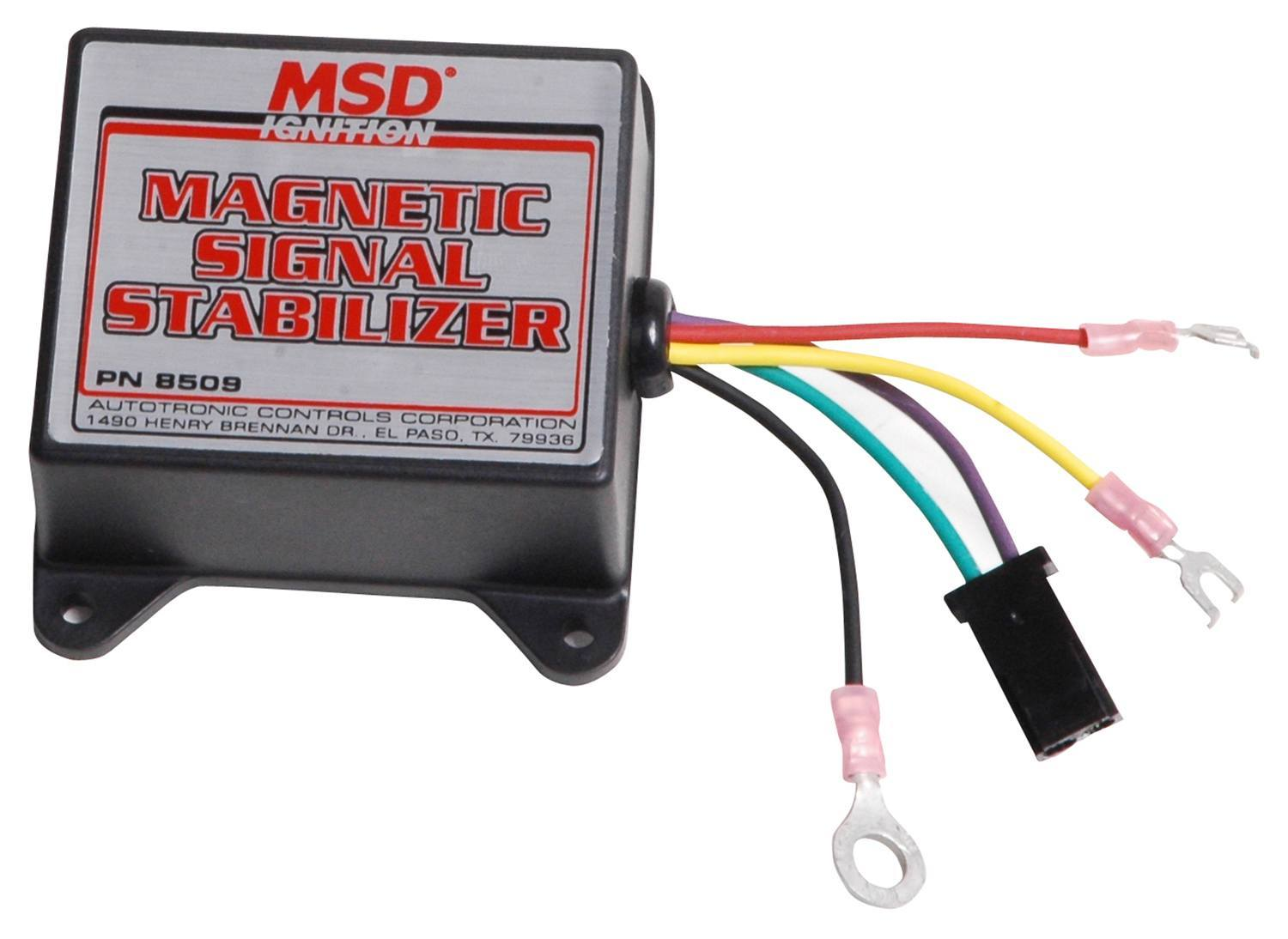 Msd Ignition Magnetic Signal Stabilizer