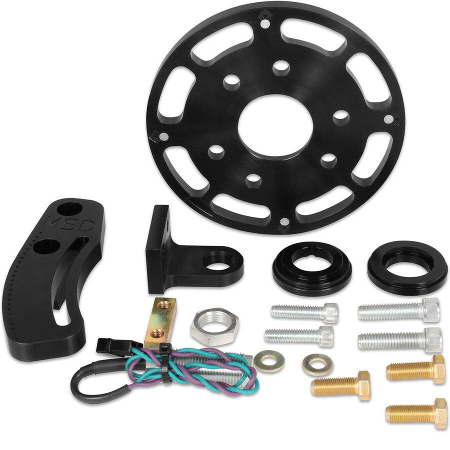 Msd Ignition Crank Trigger Kit SBC w/6.25in Wheel
