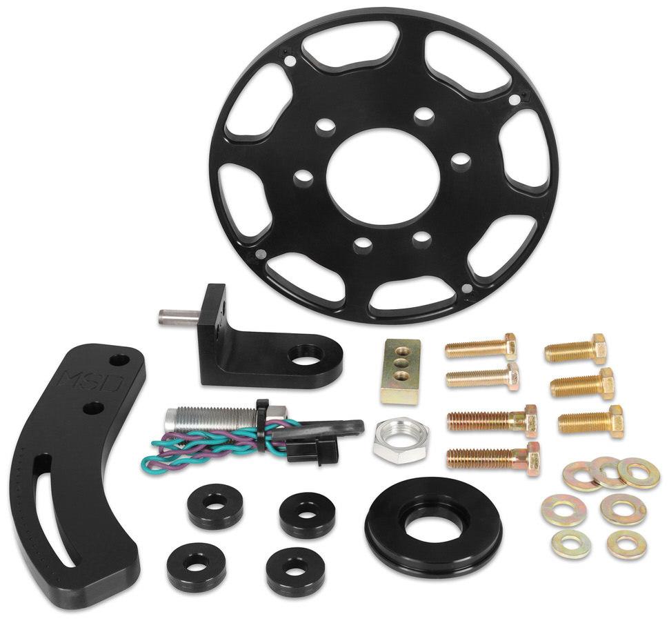 Msd Ignition Crank Trigger Kit SBC w/7in Wheel