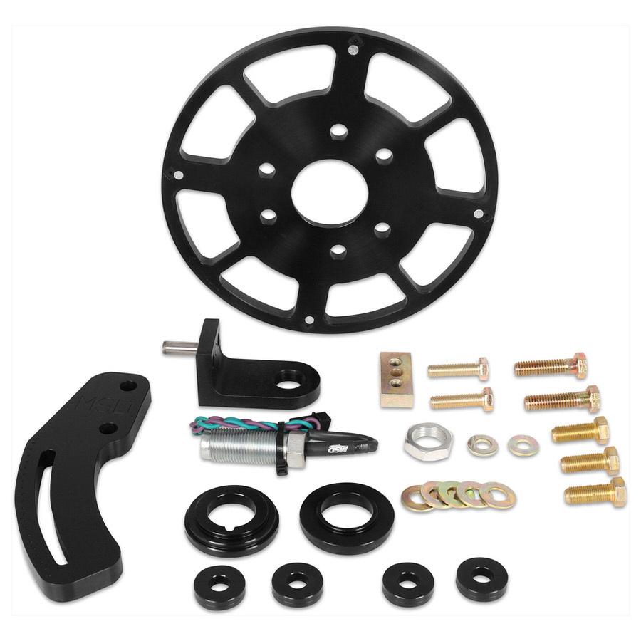 Msd Ignition Crank Trigger Kit SBC w/8in Wheel