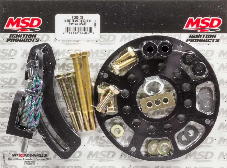 Msd Ignition SBF Crank Trigger Kit Black