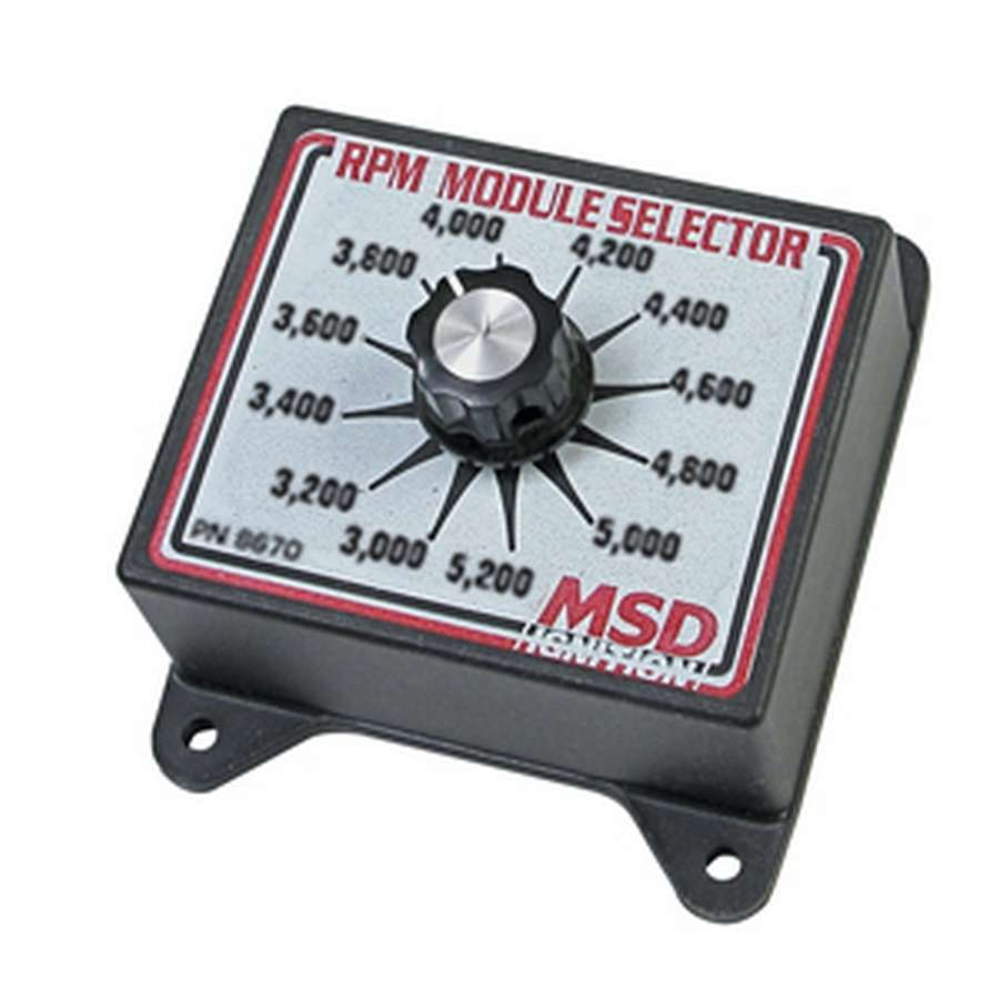 Msd Ignition 3000-5200 RPM Module Selector