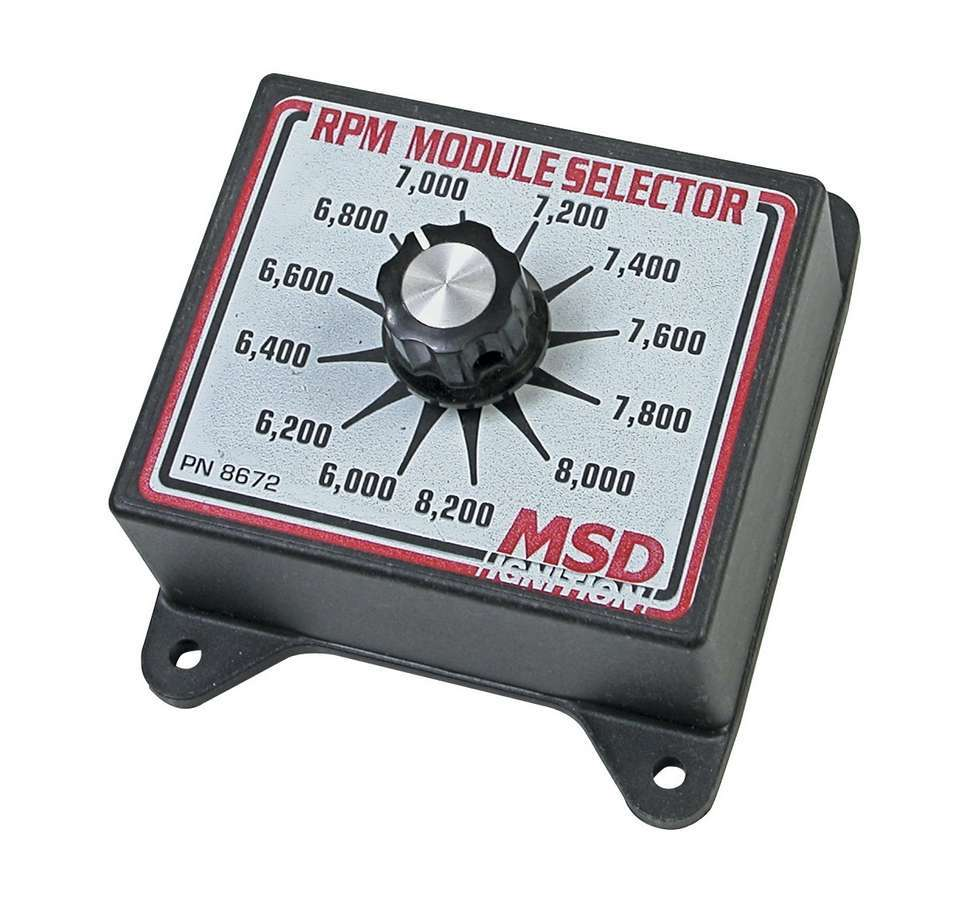 Msd Ignition 6000-8200 RPM Module Selector
