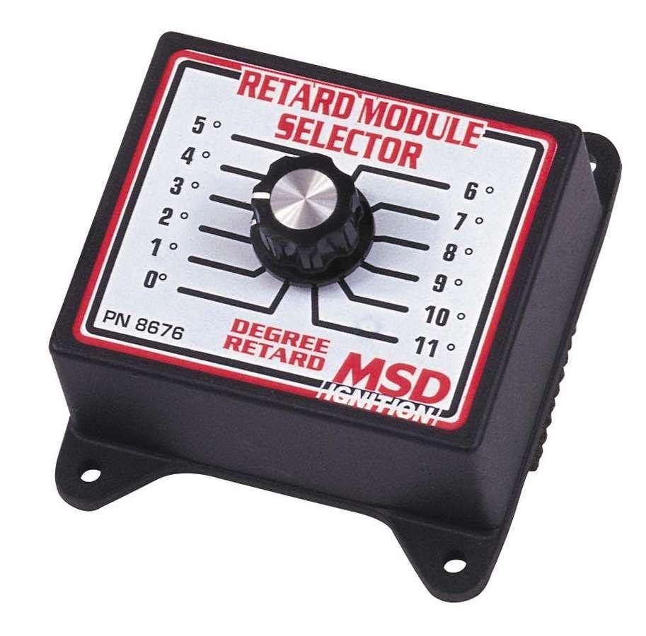Msd Ignition 0-11 Degree Retard Module Selector
