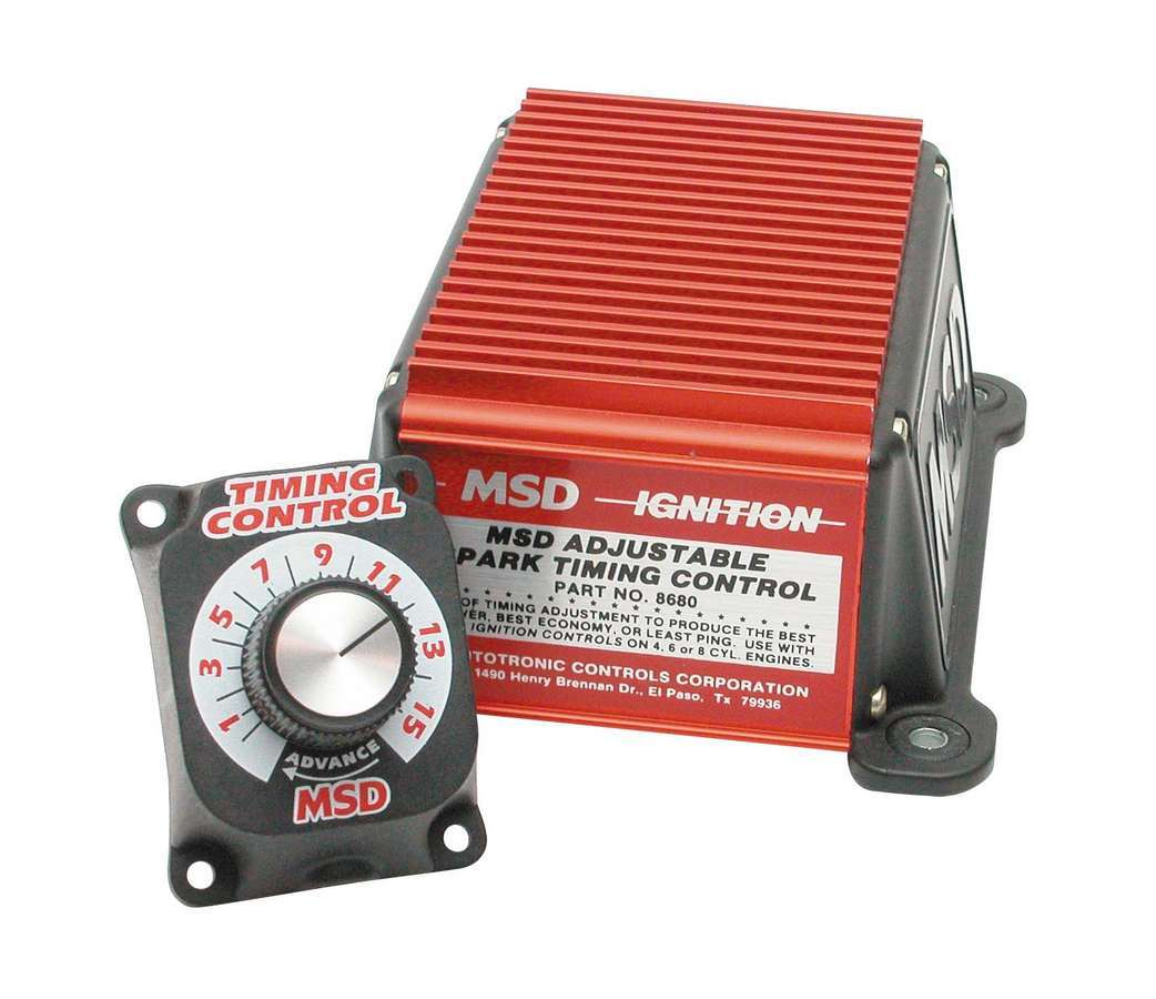 Msd Ignition Adjustable Timing Contro