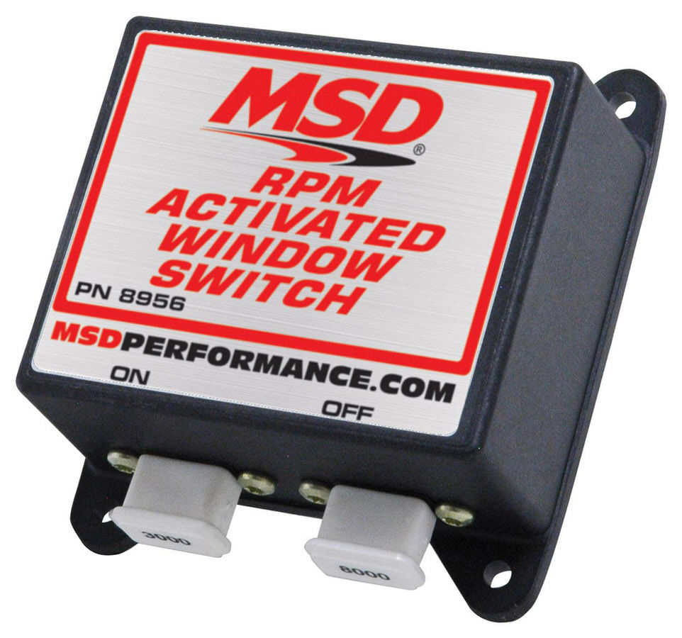 Msd Ignition RPM Activated Window Switch