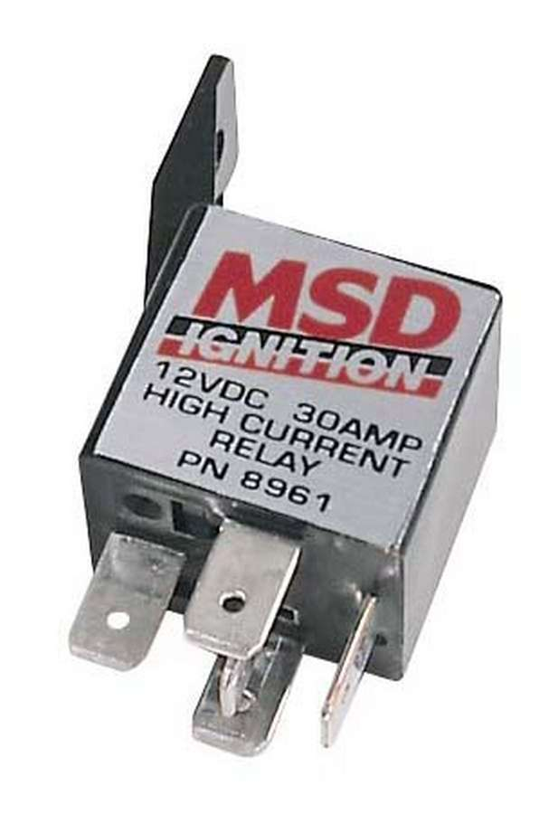 Msd Ignition 30 AMP Single Pole Single Throw Relay