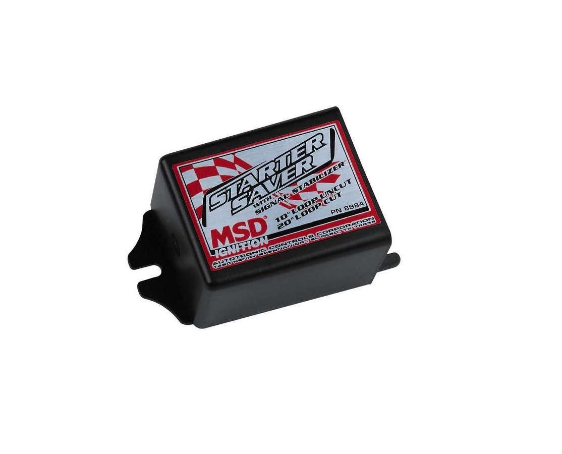 Msd Ignition Starter Saver w/Signal Stabilizer