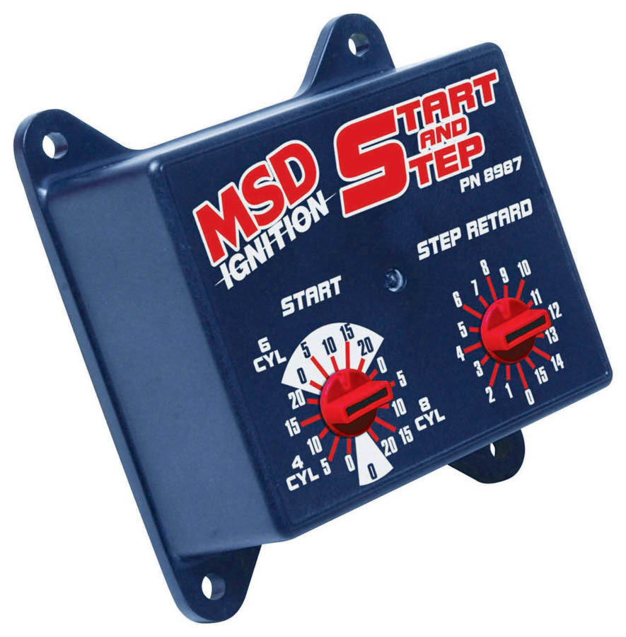 Msd Ignition Start - Step Timing Control Box
