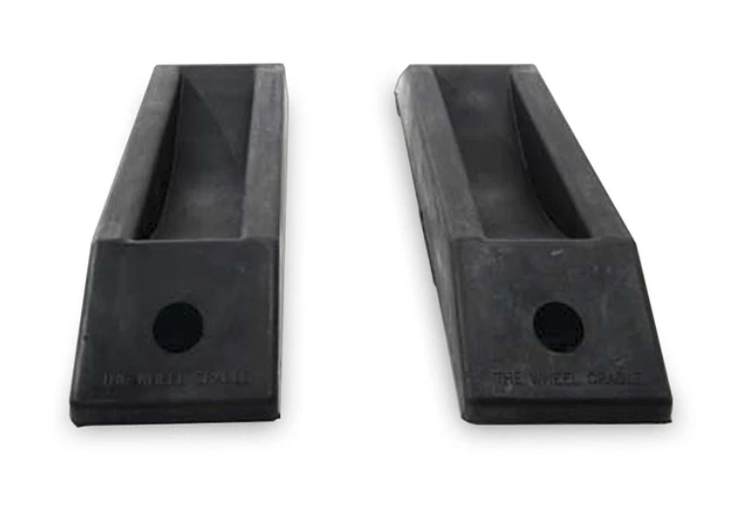 Macs Custom Tie-downs Wheel Cradles for Dragst er Front - Pair