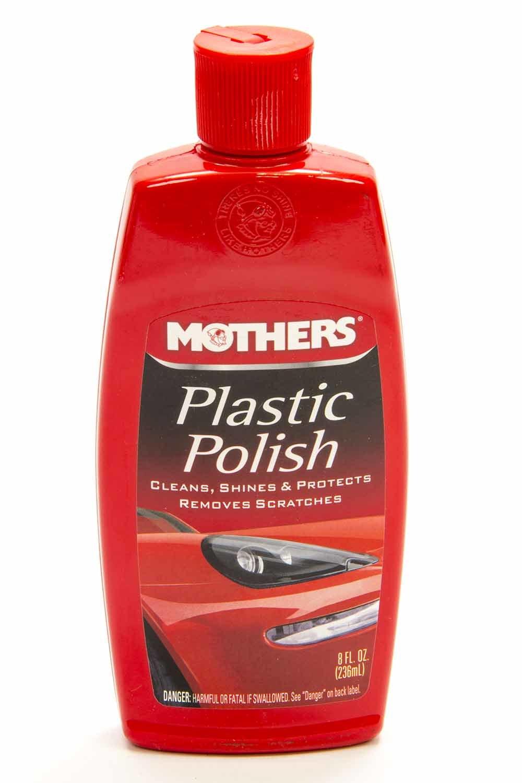 Mothers Plastic Polish 8 Oz.