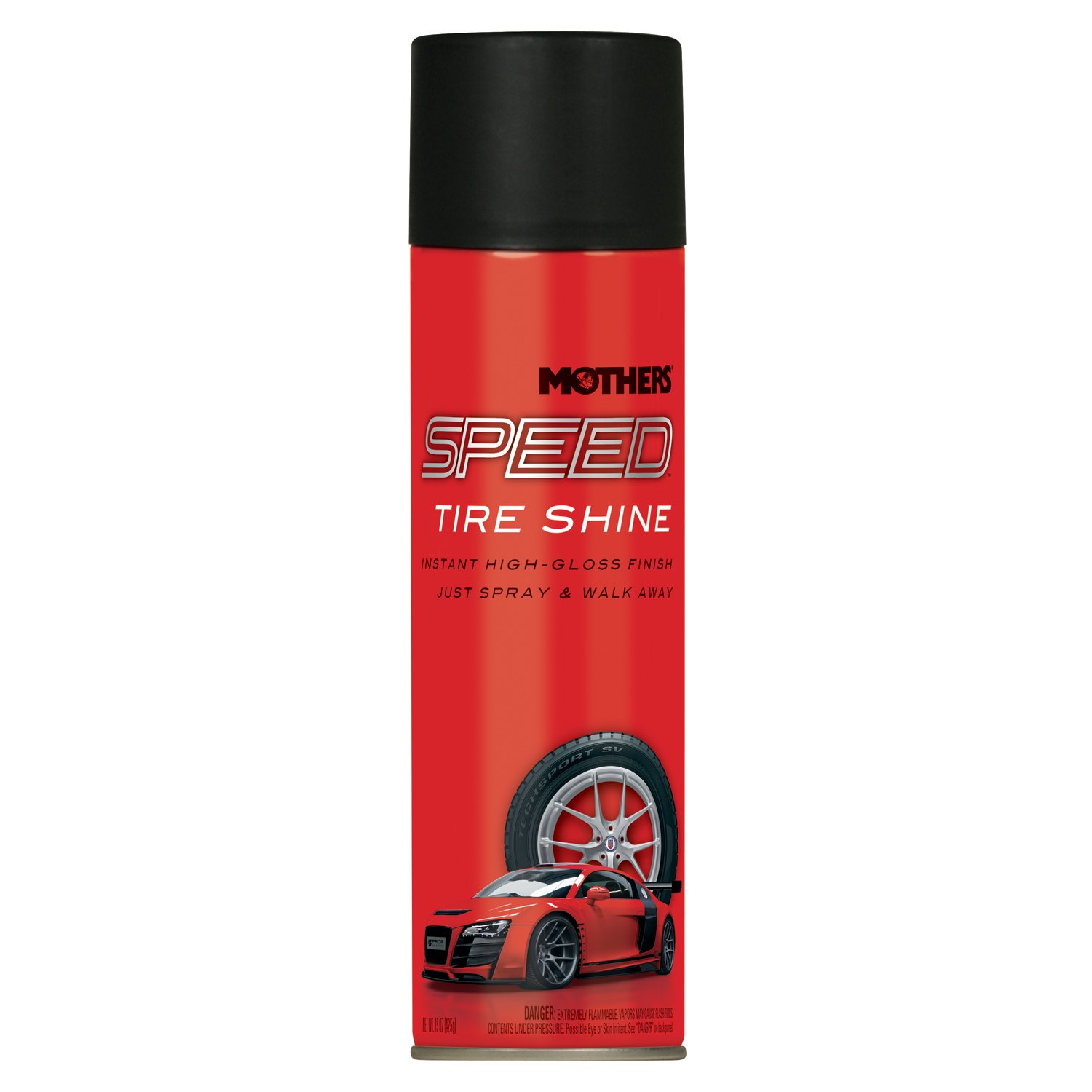 Mothers Speed Tire Shine 15oz. Can