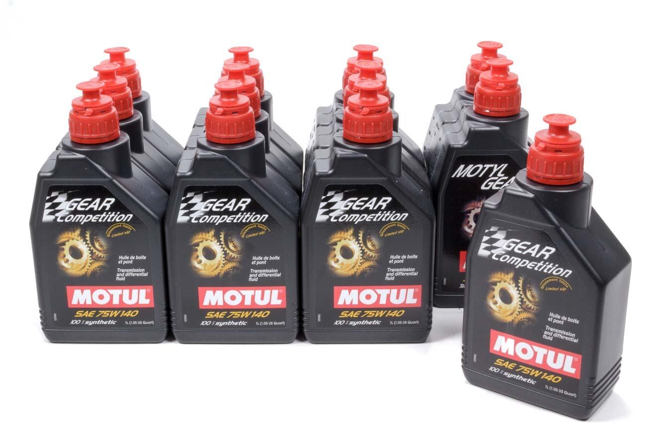Motul Usa Gear Comp 75w140 Oil Case/12-Liter